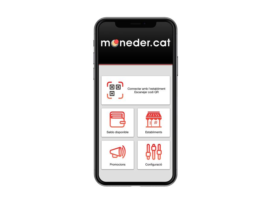 Aplicación móvil para la plataforma de fidelización Moneder
