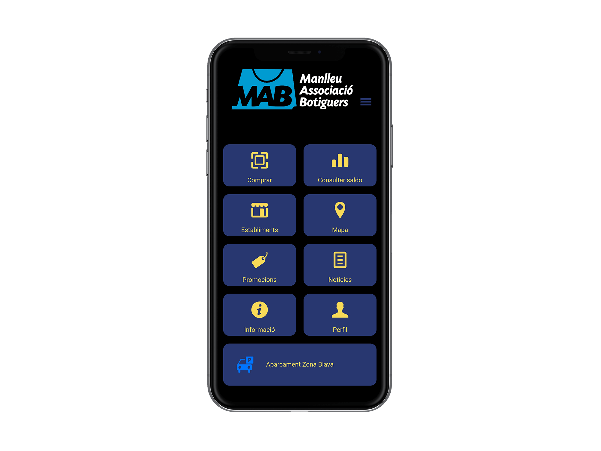 Creación de una App de Zona azul en Manlleu